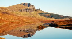 Walking Route over The Storr, The Storr over Loch Fada