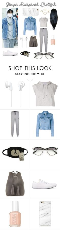 """""""Jhope Inspired Outfit"""" by kpop51300 ❤ liked on Polyvore featuring Sony, adidas, NIKE, Acne Studios, Tom Ford, Converse, Essie and Lipsy"""