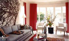 Woonkamer Ideeen Rood : Woonkamer ideeen rood eigen huis en tuin