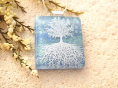 Hey, I found this really awesome Etsy listing at https://www.etsy.com/listing/256097378/tree-of-life-necklace-blue-necklace