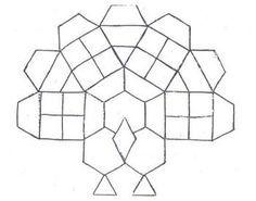 outline of turkeys body for tangram - Google Search