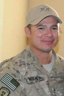 Army SSgt. Israel P. Nuanes, 38, of Las Cruces, New Mexico. Died May 12, 2012, serving during Operation Enduring Freedom. Assigned to 741st Ordnance Company, 84th Ordnance Battalion, 71st Ordnance Group, Fort Bliss, Texas. Died in Kandahar Province, Afghanistan, of wounds sustained during an enemy attack with an improvised explosive device.