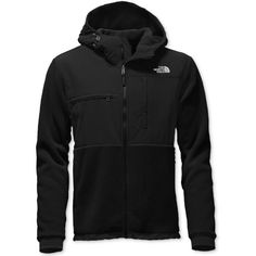 The North Face Men's Denali Fleece Zip Hoodie ($199) ❤ liked on Polyvore featuring men's fashion, men's clothing, men's hoodies, black, mens hoodies, mens hooded sweatshirts, mens sweatshirts and hoodies, mens hoodie and mens zip up hoodies