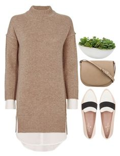 """""""Top Set   -"""" by emilypondng ❤ liked on Polyvore featuring Brochu Walker, Kate Spade, CÉLINE and Distinctive Designs"""