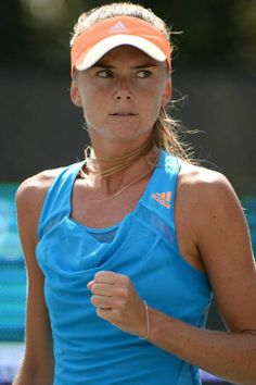 Daniela Hantuchova in her third round Match at the Family Circle Cup - Thursday, April 3rd 2014 (Day Session) #WTA #Hantuchova #FCC2014