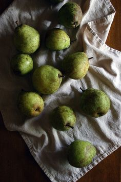 pears by beth kirby {local milk}