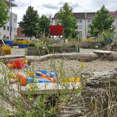 Garten-Spielplatz