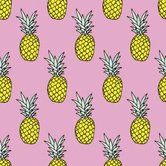 """We love pineapples, so we made it a wallpaper. 'Nuff said. Comes in three roll sizes: 20"""" x 5ft (51cm x 152cm) 20"""" x 8ft (51cm x 244cm) 20"""" x 10ft (51cm x 305cm) The 5ft roll is perfect as a surface o"""