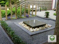 Tuin met waterelement - Maria Schlepers Tuinontwerp Dronten Flevoland