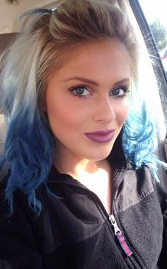 #bluehair #ombre #mermaidhair