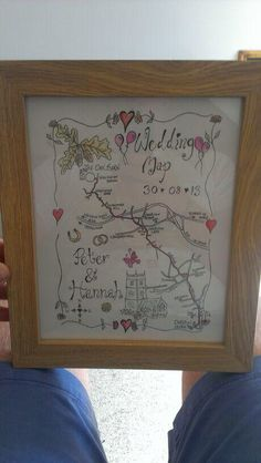 Wedding route map, On the order of services.