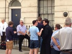 Twitter / mizuhoito: B and Mark #SETLOCK ...