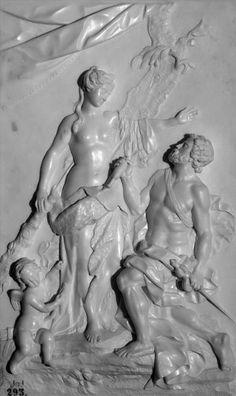 Hercules and Omphale att. to Antonio Dumandré, 18th century. Museo Nacional del Prado, Spain