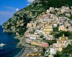 Fantastic view of Amalfi, Amalfitan coast Italy