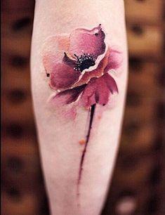 Cool 3D Watercolor Flower Arm Tattoos for Women - MyBodiArt.com #hawaiiantattoosforwomen