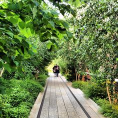 Just a quick walk from the DVF office, The High Line serves as the perfect mid-afternoon break.