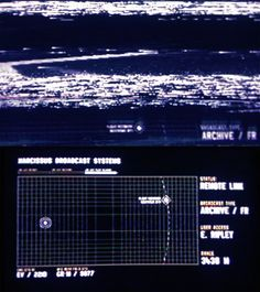 Alien isolation #GUI #HUD #UI