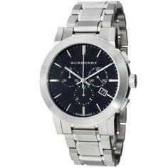 Relógio Burberry Women's BU9351 Large Check Stainless Steel Bracelet Watch #relogio #burberry