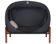 The Privacy Pop: Indoor tent for your bed. I've got the feeling all my kids would beg to get one of these.