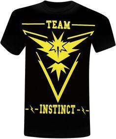 b5b2f5bd Pokemon Go Team Instinct Rules Men's T-Shirt Pokemon Go Team Instinct, Duty  Gear