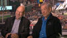 VIDEO: 'This Week' Web Extra: Ian McKellen and Patrick Stewart #Broadway
