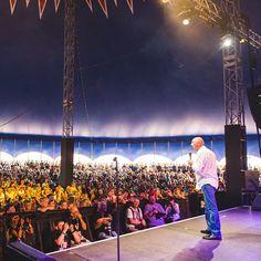 Big Top crowd loving Jasper Carrott earlier! #CampBestival