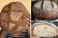 Po dlouhém čase se mi konečně podařil chlebíček z mého kvásku. Kvásek jsem poctivě krmila 2 týdny, aby byl silný a nakonec jsem z něj upekla tento krásný velký bochník s lněnými semínky. Inspirovala jsem se receptem od bonvivani.sk, jen trošku jsem si poměr surovin upravila. Autor: Karambola Bakery, Bakery Business, Bakeries