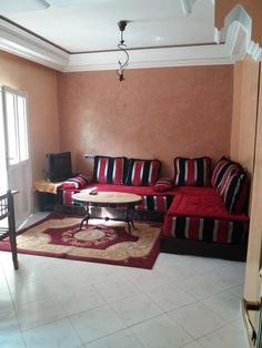 Located in Agadir, miles from Amazighe Heritage Museum and Agadir, Airport Shuttle, Kitchenette, Morocco, Separate, Hotels, Couch, Living Room, Bathroom