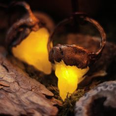 It's fairy magick! Get your glowing crystal Necklaces now.