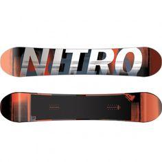 Nitro Team Gullwing snowboard white red