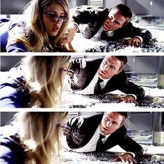 Arrow - Oliver & Felicity #2.1 #Season2 #Olicity