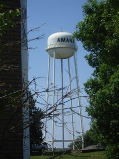 Amana water tower at the Amana Colonies