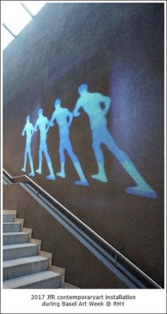#dancing on the #wall . #videoart #projection #mapping JfR 2017 . #contemporaryart Projection Mapping, Exhibitions, Contemporary Art, Dancing, Gallery, Wall, Artwork, Work Of Art, Dance
