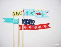 #banderines #flag #cake_topper
