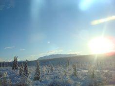 Eureka, Alaska.