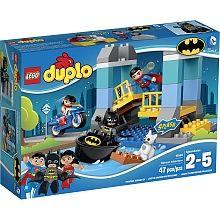 LEGO Duplo Batman Adventure Superman Wonder Woman 100 Complete Set 10599 for sale online Lego Duplo, Lego Toys, Gotham City, Legos, Role Play Scenarios, Superman, Lego Batman, Building Blocks Toys, Buy Lego