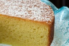 French Grandmother's Lemon Yogurt Cake - thecafesucrefarine.com