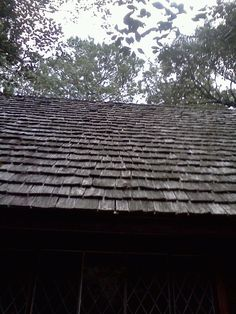 Cedar Shake roof on the Lichgate Cottage | Tumblr