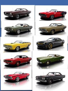 Mopar cars,Find parts for these classic beauties at http://restorationpartssource.com/store/