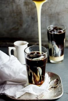 My Ultimate Iced Coffee with sweetened Condensed Milk. #Recipe