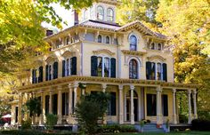 1866 Hip-roof Italianate Victorian - National Register Home - The Philip Chapin House $699,900  55 Church Street, New Hartford, CT