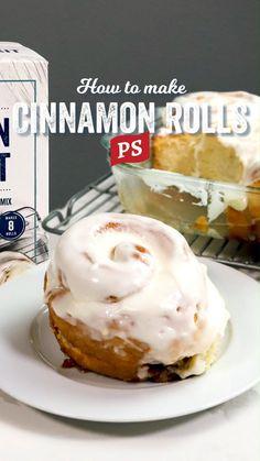 Cinnabon Recipe, Cinnabon Cinnamon Rolls, Best Cinnamon Rolls, Cinnamon Bread, Donut Recipes, Baking Recipes, Dessert Recipes, Delicious Desserts, Yummy Food