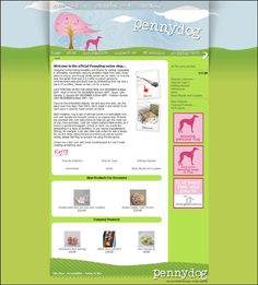 Store In Spotlight PennyDog Jewellery This Was Highlighted As A Zen Cart It Is Great Example Of The Flexibility Available To