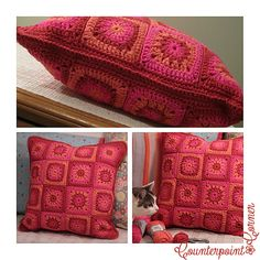 Ravelry: Pianoanne's Sunny Day Pillow Cover