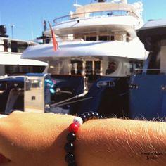 Wanna yachting? Our `Monaco´ mensbracelet is your perfect partner in crime! #monaco #houseofadamjewelry #mensjewelry