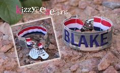• Visit our Website: www.KizzybelDesigns.com • Like us on Facebook: www.Facebook.com/KizzybelDesigns • Follow us on Instagram: www.instagram.com/IsabelPizarro #military #militaryjewerly #support #homecoming #jewelry #kizzybeldesigns #customjewelry #army #navy #usmc #charms #airforce #militarycharms #armykeychain #nametape #magnets #bottlecaps #armywife #nametapebracelet #bracelet #necklace #keychain #combatboots #dogtags #usa #america #custom #handmade #gift #deployment #craft #crafts #DIY