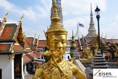 Königspalast in Bangkok Bangkok, Buddha, Thailand, Statue, Tour Operator, Travel, Sculpture