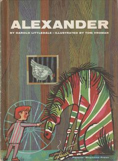 Alexander by Harold Littledale 1964 Tom Vroman Red Horse With Green Stripes by BirdhouseBooks on Etsy Empire Of Storms, Teen Romance, Kids Poems, Legends And Myths, Retro Illustration, Little Golden Books, Vintage Children's Books, My King, Green Stripes