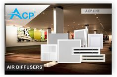 Air diffusers for ventilation systems.  http://www.acp.ro/produse/?filter_portfolio_category=diffusers