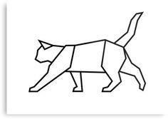 nice Geometric Tattoo - Geometric Cat by mgddesign                                                      ...
